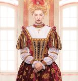 Haughty queen Royalty Free Stock Photo