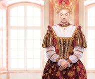 Haughty queen Royalty Free Stock Photos