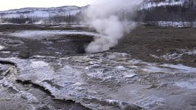 Haukadalur, IJsland, Europa stock footage