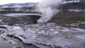 Haukadalur, Islanda, Europa stock footage