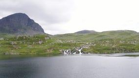 The Haukeli Mountain Area. In Norway stock video