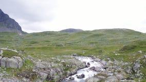 The Haukeli Mountain Area. In Norway stock footage