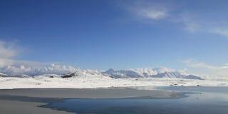 Hauklands arktische Landschaft Stockbild