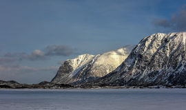 Hauklandsvatnet, Lofoten Islands, Norway Stock Images