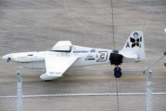 Haul aircraft hangar in Air race 1. Stock Photo