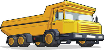 Haul Truck/Construction Truck Royalty Free Stock Photo
