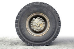 Haul truck wheel Stock Photography
