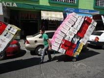 hauling av skor Royaltyfri Foto