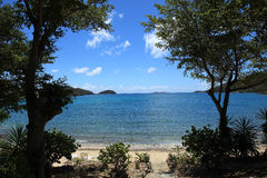Haulover Bay in St John Stock Photos