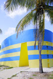 Haulover parkerar toaletter Miami Royaltyfri Foto