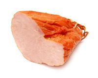 Haunch of meat. On a white background stock photography