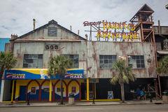 Haunted Adventure. One of the most popular attractions at Myrtle Beach South Carolina Stock Photos