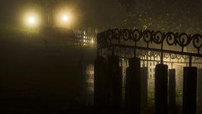 Haunted Burial ground. View Royalty Free Stock Image