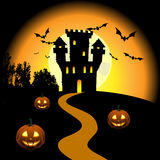 Haunted castle Royalty Free Stock Photo