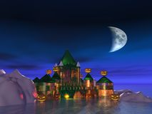 The Haunted Castle Royalty Free Stock Photo
