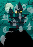 Haunted Castles Stock Photo