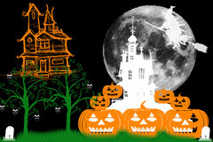Haunted Castles Stock Images