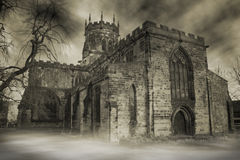 Haunted Church Royalty Free Stock Images
