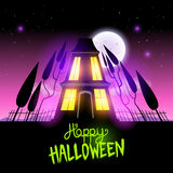 Haunted Halloween House Stock Images