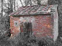 Free Haunted Horror House. Old Haunted House In The Woods With Evil Spirits Royalty Free Stock Photo - 76905865