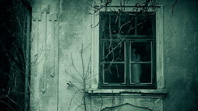 Haunted horror sequence of the horror footage stock footage