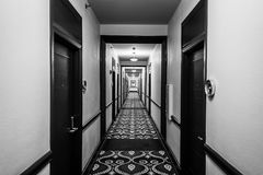 Haunted Hotel in the Florida Keys royalty free stock photo