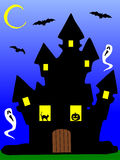 The haunted house Royalty Free Stock Photography