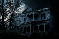Haunted House. An image of a haunted house