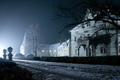 Haunted House. An image of a haunted house stock images