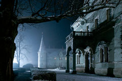 Haunted house. An image of a haunted house royalty free stock image
