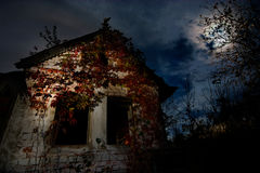 Haunted house. Image of Haunted house - good background for halloween cards stock photography