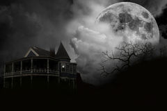 Haunted House stock image