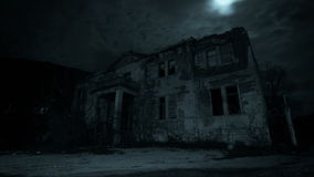 Haunted house stock footage