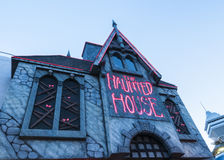 The haunted house amusement Royalty Free Stock Photography