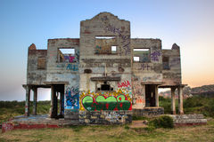 The Haunted House in Durban Royalty Free Stock Photography