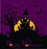 Haunted House Halloween Royalty Free Stock Images