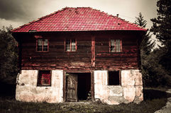 Haunted house Royalty Free Stock Images