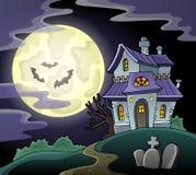 Haunted house theme image 2 Royalty Free Stock Photo