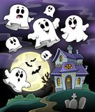 Haunted house theme image 5 Stock Photo