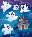Haunted house theme image 7 Stock Image