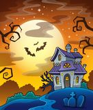 Haunted house theme image 8 Royalty Free Stock Photo