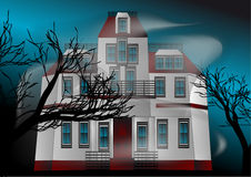 Haunted house Stock Images