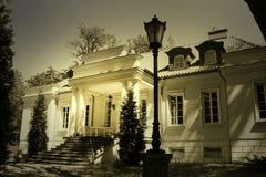 Haunted mansion Stock Photo