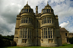 Haunted mansion?. An architecturally significant Elizabethan mansion stock image
