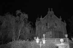 The Haunted Mansion Stock Images