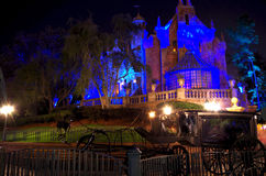 Haunted mansion Stock Image