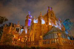 Free Haunted Mansion, Disney World, Magic Kingdom, Travel Stock Photography - 140921372