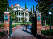 The Haunted Mansion - Disneyland Stock Photography