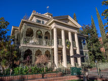 Haunted Mansion ride at Disneyland Park Stock Photography