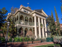 Haunted Mansion ride at Disneyland Park Stock Photos